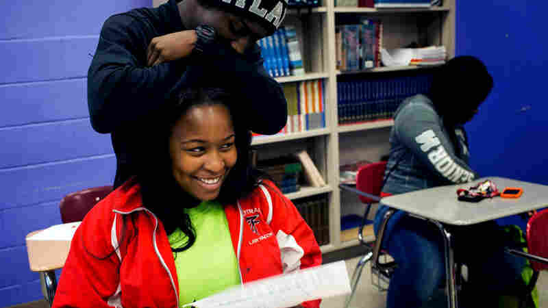 The student population at D'Leisha Dent's high school, Central High in Tuscaloosa, Ala., is almost entirely African-American. Dent says she and her peers wish they had more opportunities to interact with white students.