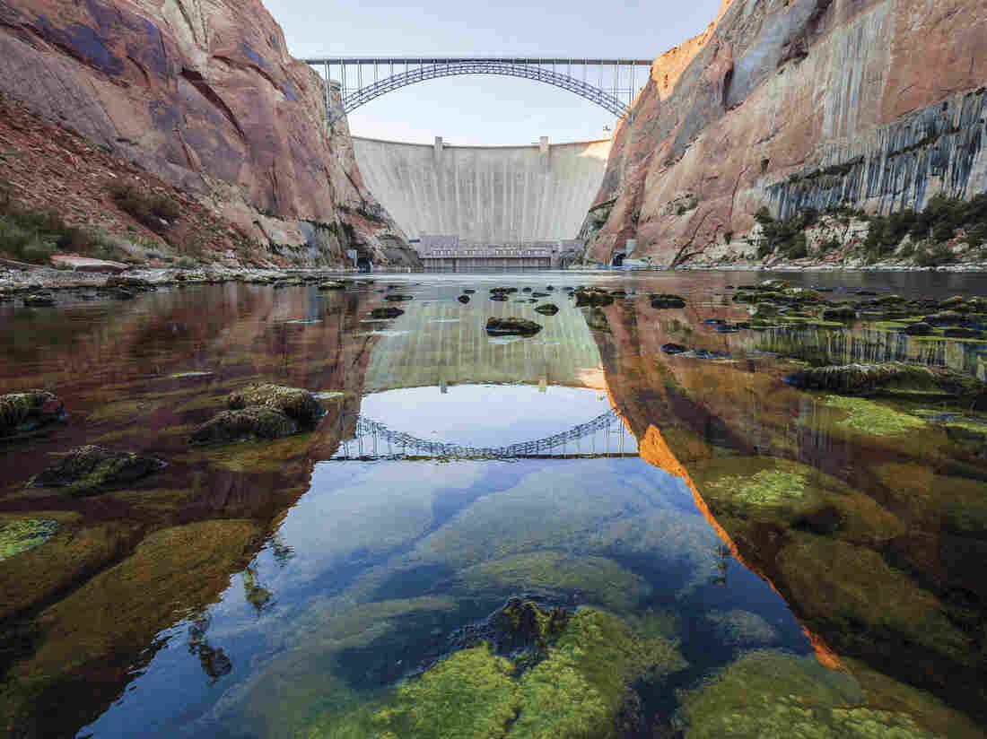 Glen Canyon Dam, on the Arizona/Utah border, is seen in a scene from DamNation.