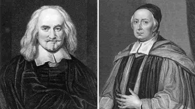 The 17th-century rivalry between English philosopher Thomas Hobbes, left, and English mathematician John Wallis lasted decades.