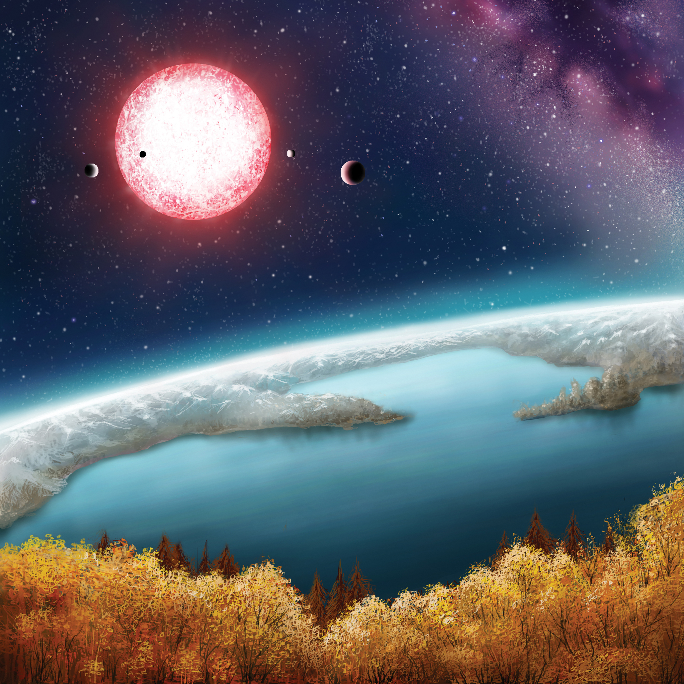 The discovery of Kepler-186f confirms that Earth-size planets exist in the habitable zone of other stars.