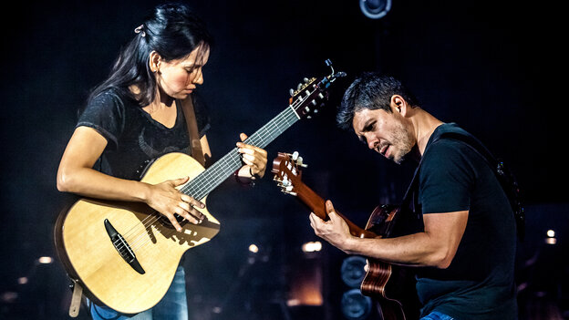 Rodrigo y Gabriela's new album, 9 Dead Alive, comes out April 29.