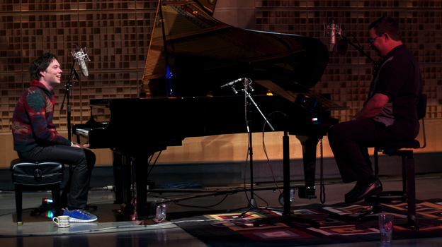 Rufus Wainwright joins Wade Goodwyn in NPR's Studio 1 to play a few of his hits. (NPR)