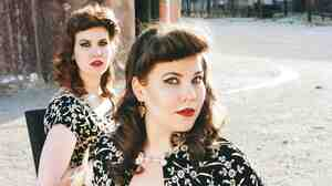 The Secret Sisters' new album, backed by Jack White and produced by T-Bone Burnett, is called Put Your Needle Down.