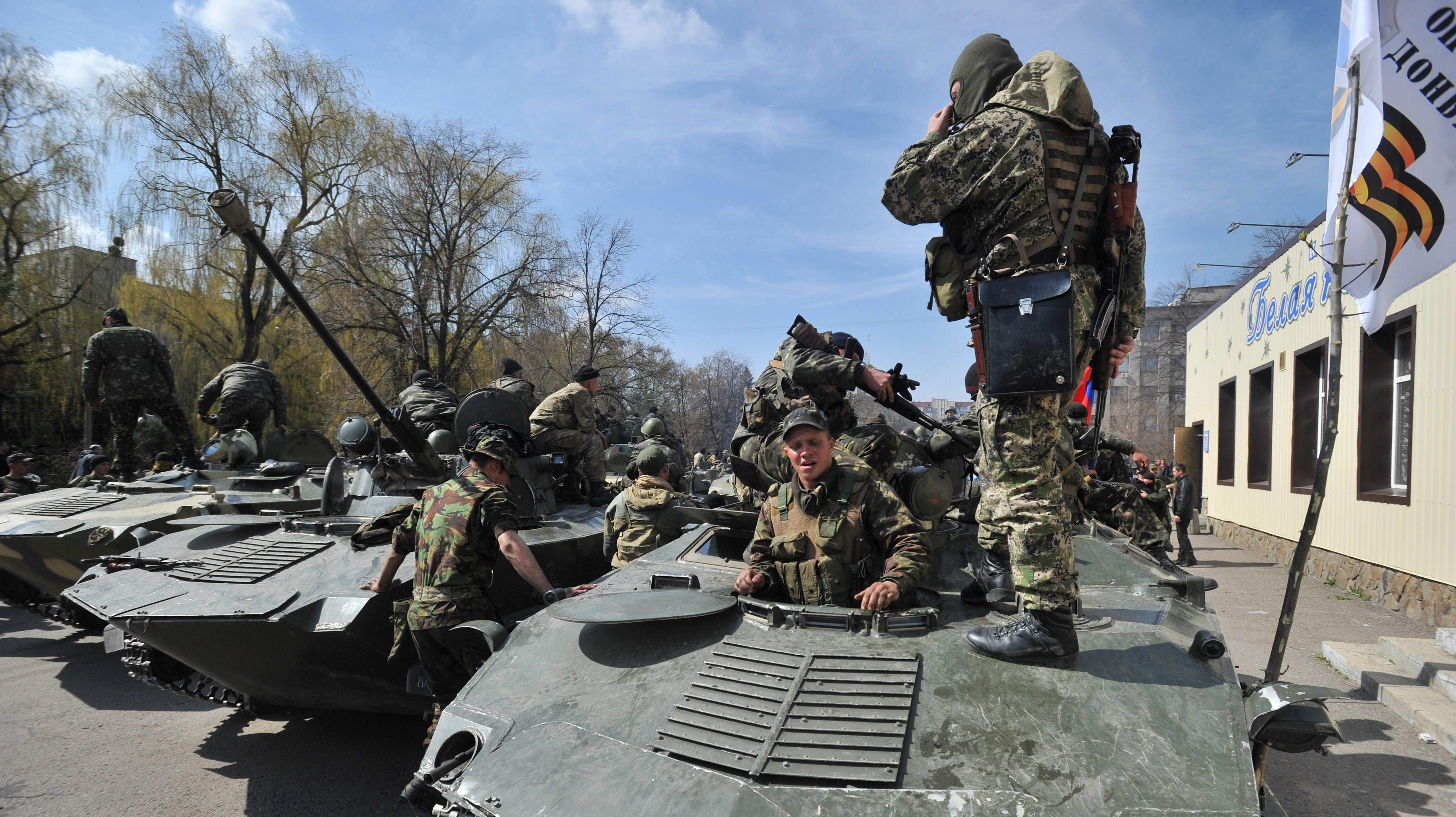 Ukraine Crisis: Russia Endorses Call For Protesters To Disarm