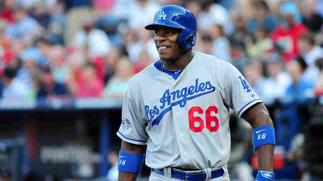"""Cuban player Yasiel Puig has often been criticized for lacking discipline and for his """"energetic"""" approach to the game. His fascinating journey to the U.S. was recently chronicled by LA Magazine and ESPN."""