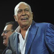 Cheo Feliciano at the opening of The Fania All Stars 2013 world tour in San Juan, Puerto Rico.