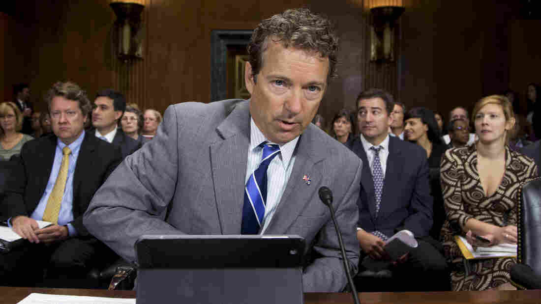 Republican Sen. Rand Paul of Kentucky testified last year in favor of revamping the nation's mandatory federal minimum sentencing laws.