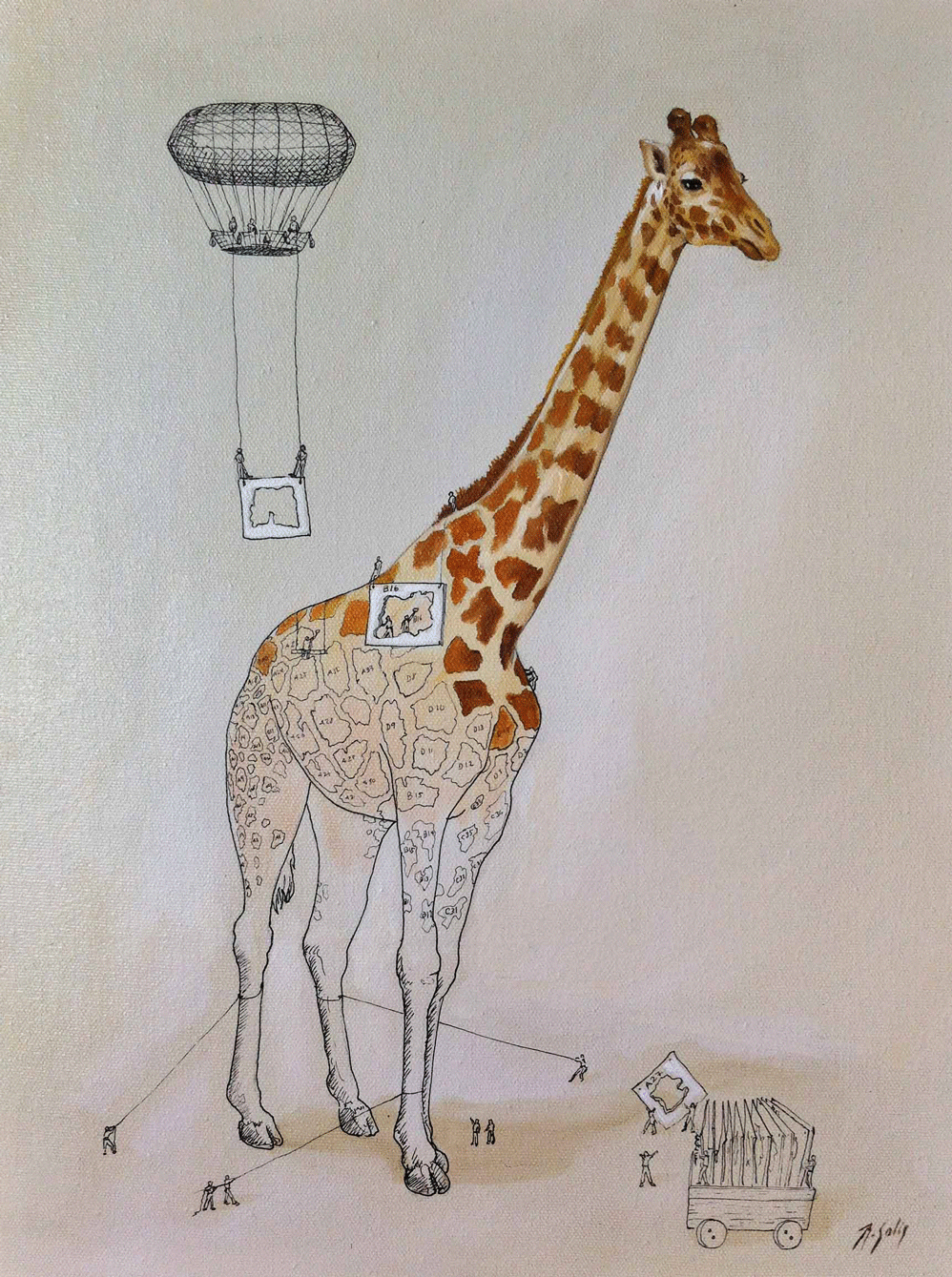 Custom Kids Book Giraffe Story