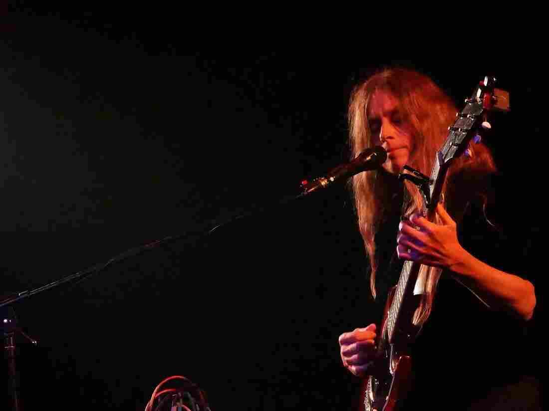 Juana Molina performing in Vienna, VA.