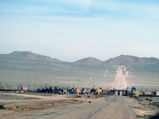 The mock villages at the National Training Center at Fort Irwin, Calif., are meant to simulate urban environments that soldiers might encounter in Afghanistan.