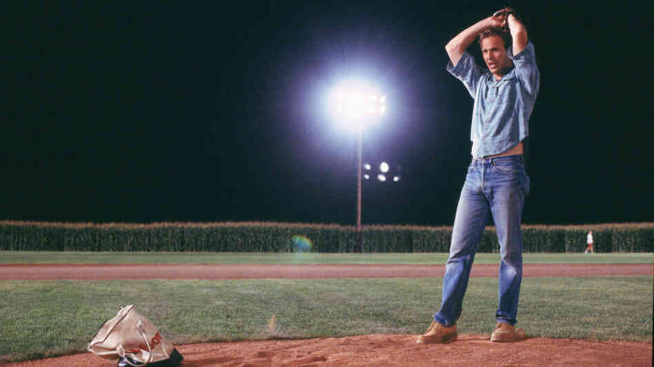 an analysis of the change of the character of ray kinsella in field of dreams A description of key characters in shoeless joe  character works in the change booth at the  on the baseball field in iowa annie kinsella - this is the .