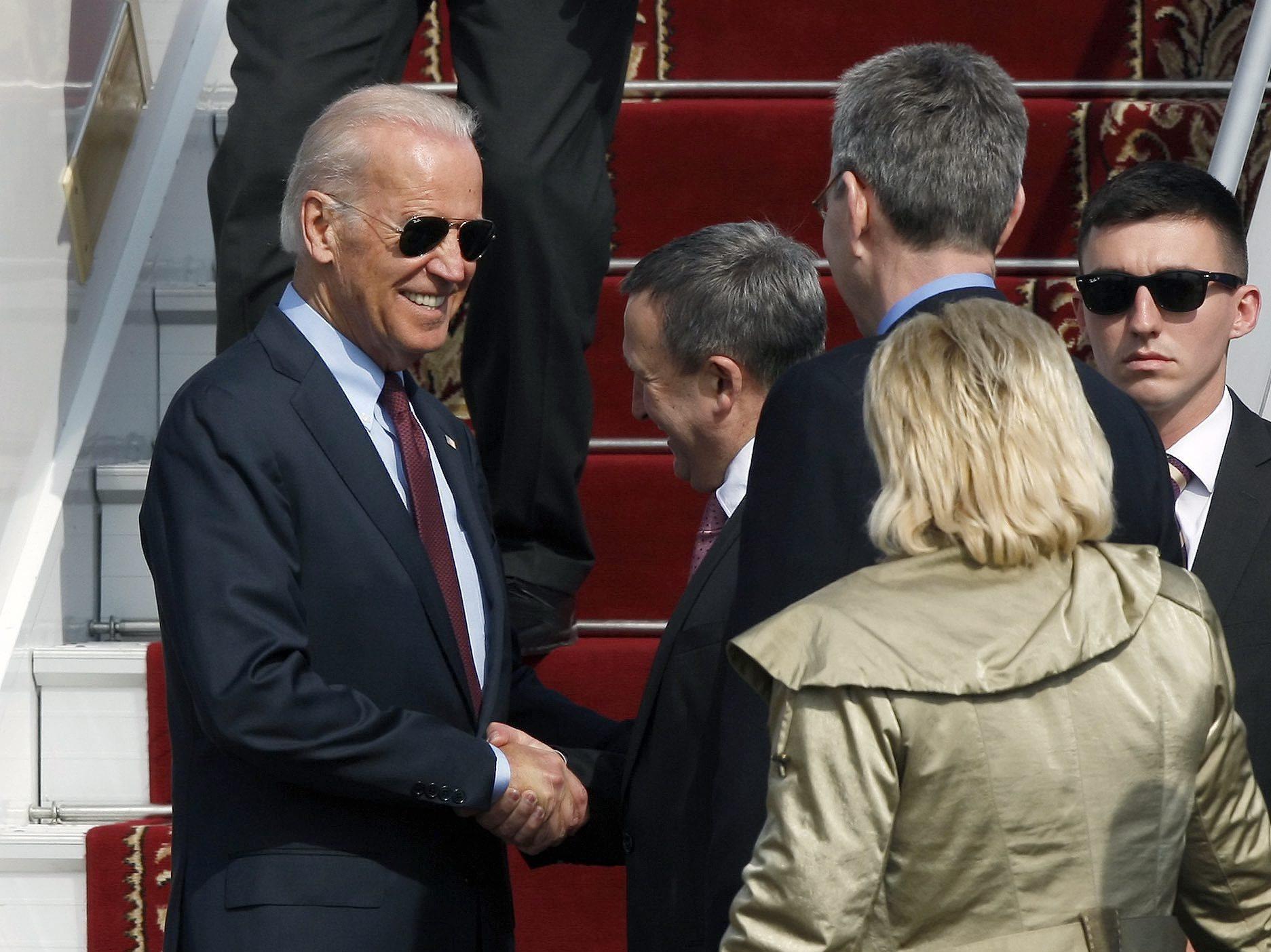 Biden Visits Ukraine In Show Of U.S. Support