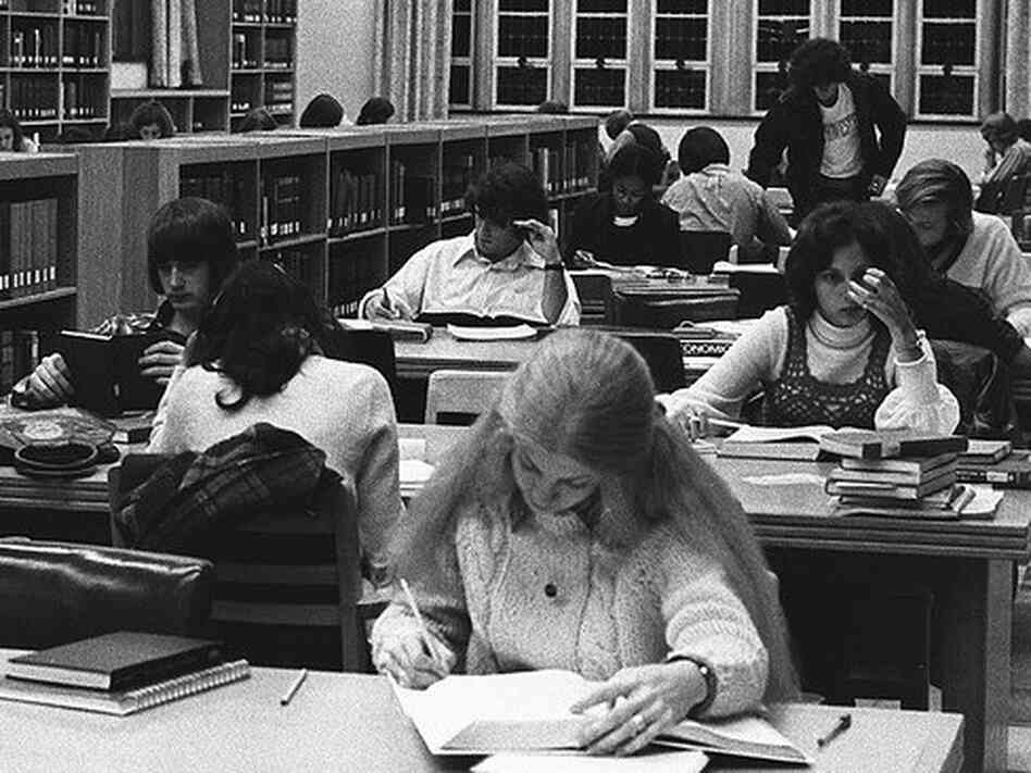 College in the 1970s, when America was still the most educated nation.