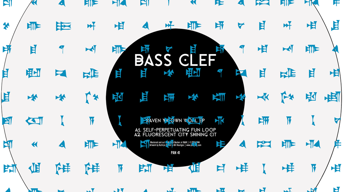 Bass Clef's latest EP, Raven Yr Own Worl.