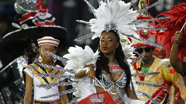 """Carnival season is already over in Trinidad and Tobago, but we're sure we're going to be seeing some wining to Machel Montano's """"Ministry of Road"""" come Labor Day in New York. (Getty Images Latin America)"""