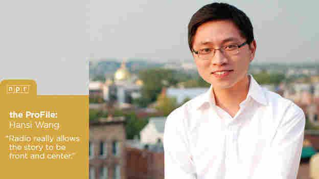 Hansi Wang ProFile header