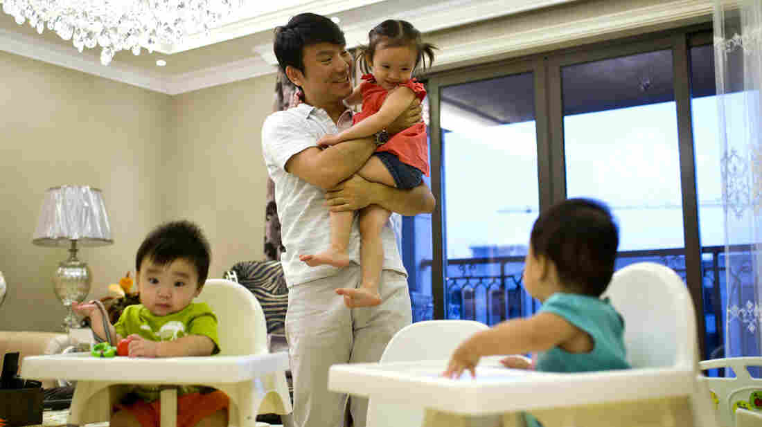 After failed attempts with Chinese surrogates, Tony Jiang and his wife now have three children, thanks to an American surrogate.