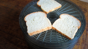 Enjoy your toast pale and crispy? Then the dehydrator is the appliance for you.