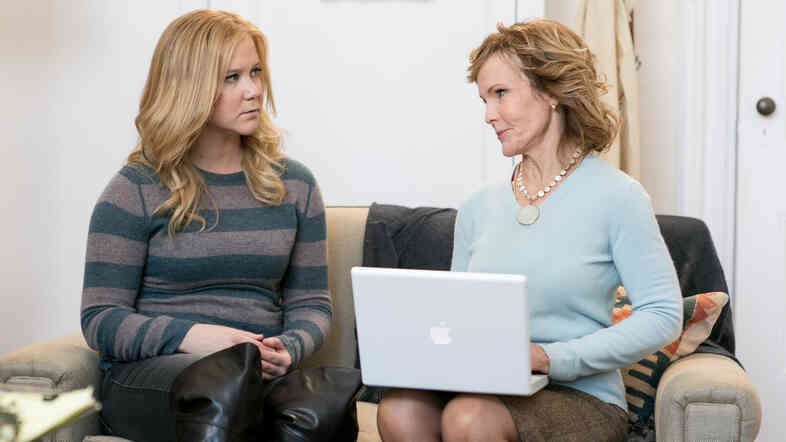 Inside Amy Schumer showcases the work of Schumer, here with Deborah Rush.