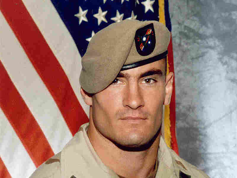 Pat Tillman, in a 2003 photo provided by Photography Plus. Tillman was killed in a friendly-fire incident in Afghanistan on April 22, 2004.