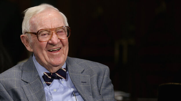 "Former Supreme Court Associate Justice John Paul Stevens, pictured in 2013, has a laundry list of legal changes he'd like to see and thinks ""ultimately each will be adopted."""