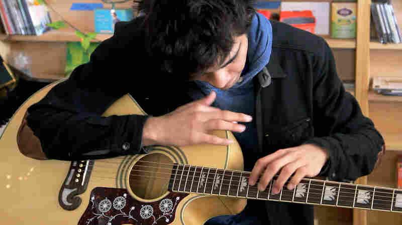 Usman Riaz performs a Tiny Desk Concert.