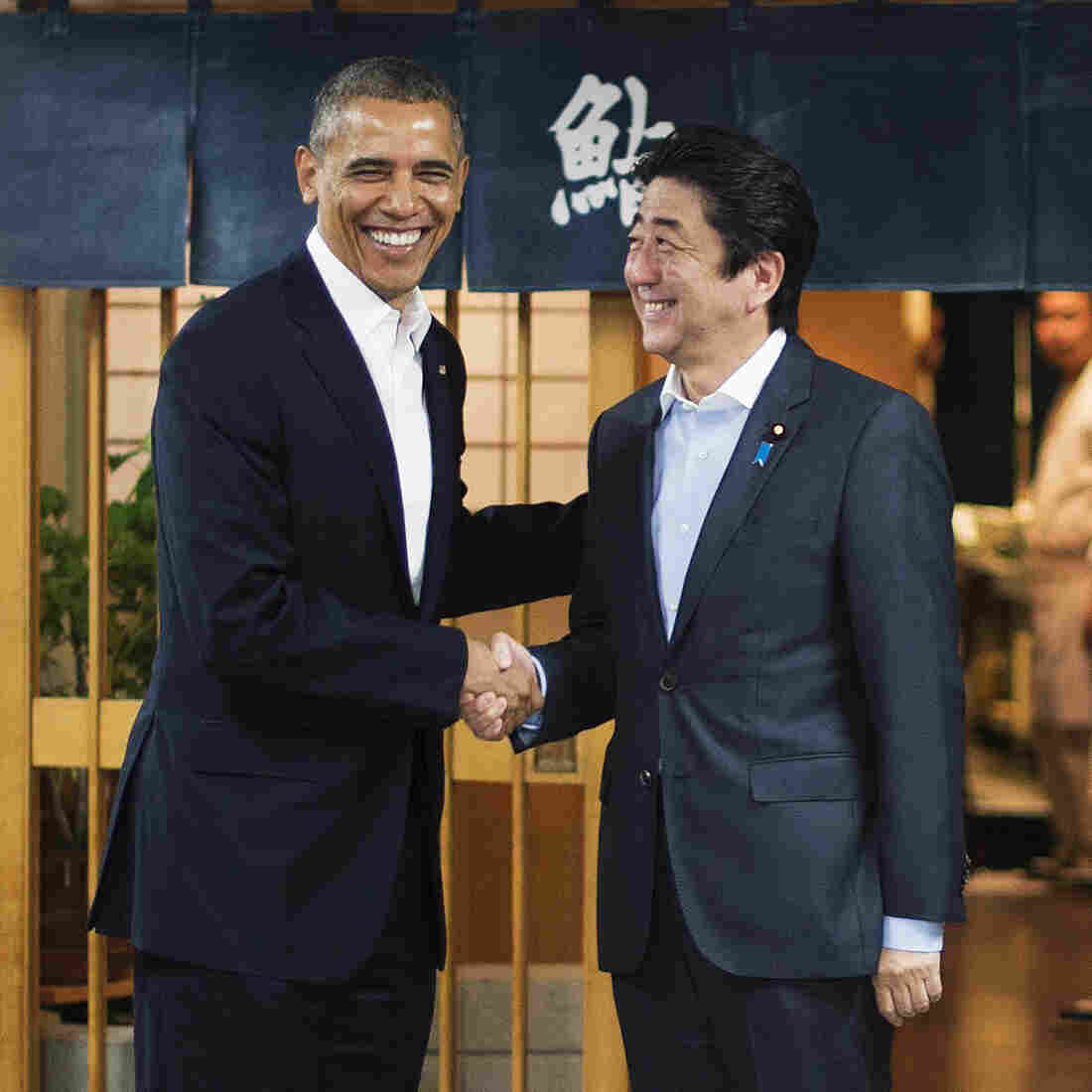 Obama Gets A Taste Of Jiro's 'Dream' Sushi In Name Of Diplomacy