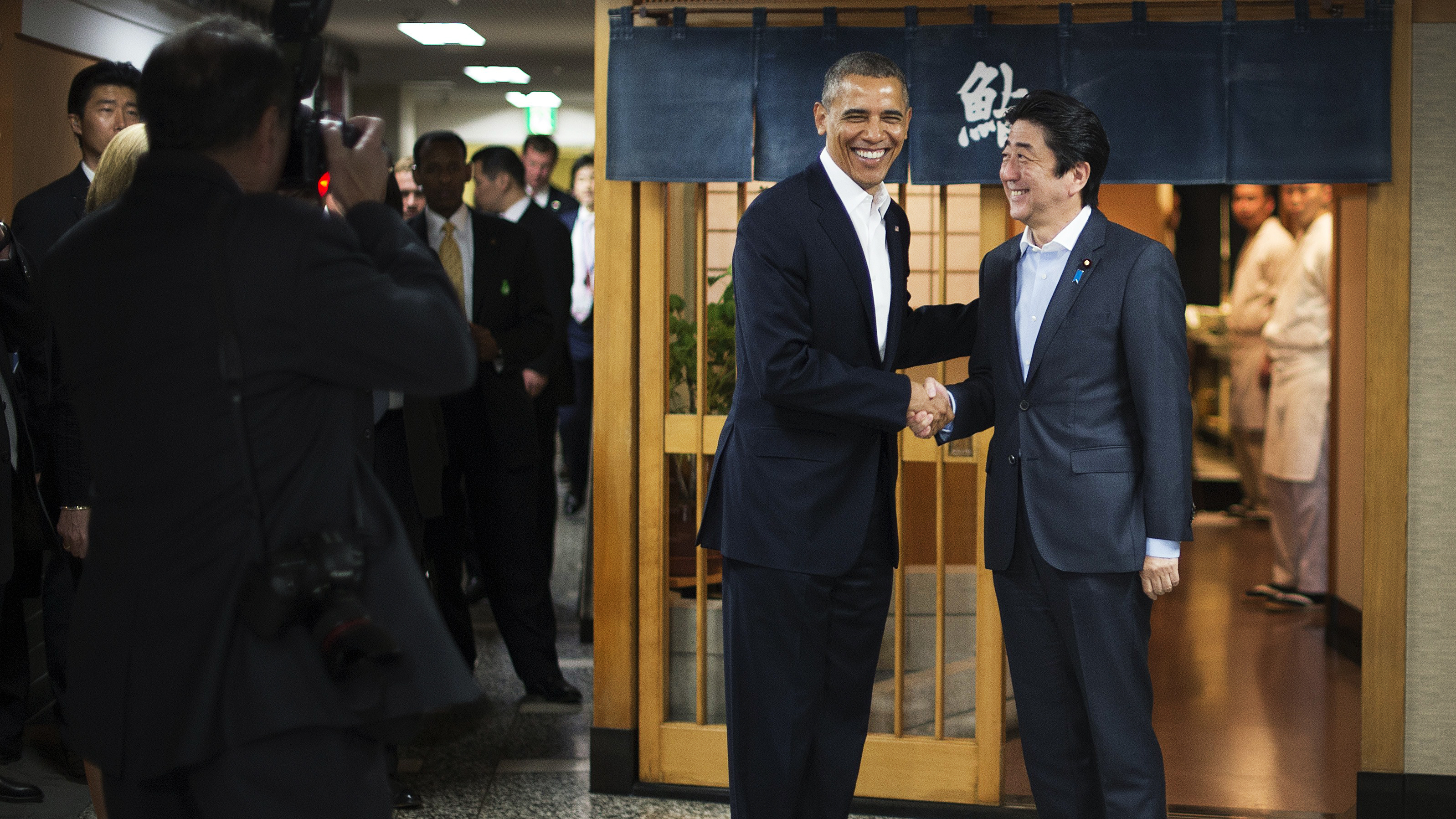 Obama Gets A Taste Of Jiro's 'Dream' Sushi In Name Of Diplomacy