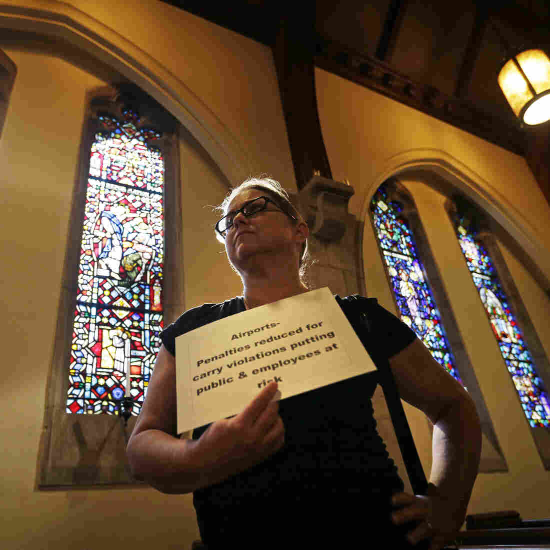 Georgia Law OKs Guns In Schools, Churches