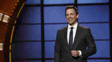 Seth Meyers' 'Late Night' Challenge: What To Do With His Hands