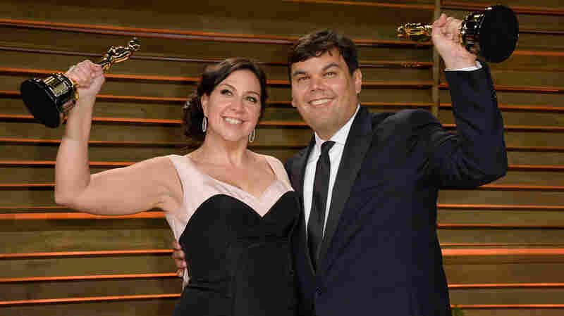 Robert Lopez and Kristen Anderson-Lopez.