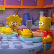 "The Simpsons enters the world of Lego in the upcoming episode ""Brick Like Me."""