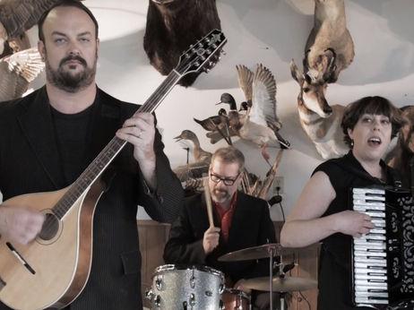 Black Prairie, which includes members of The Decemberists, offer video stuffed with dark humor.