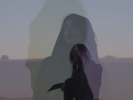 "The video for Melaena Cadiz's rustic earworm, ""Needles River,"" strikes a surreal and ghostly tone."