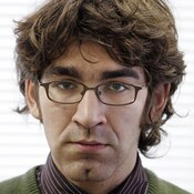 U.S. journalist Simon Ostrovsky in Moscow in 2004. He was reportedly released on Thursday after being held briefly by pro-Russian separatists in eastern Ukraine.