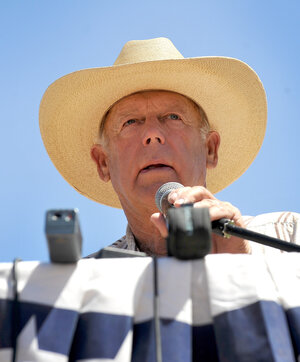 Cliven Bundy, who has been locked in a dispute with the federal government for decades over grazing rights on public lands, has strong opinions on things. Things like black people.