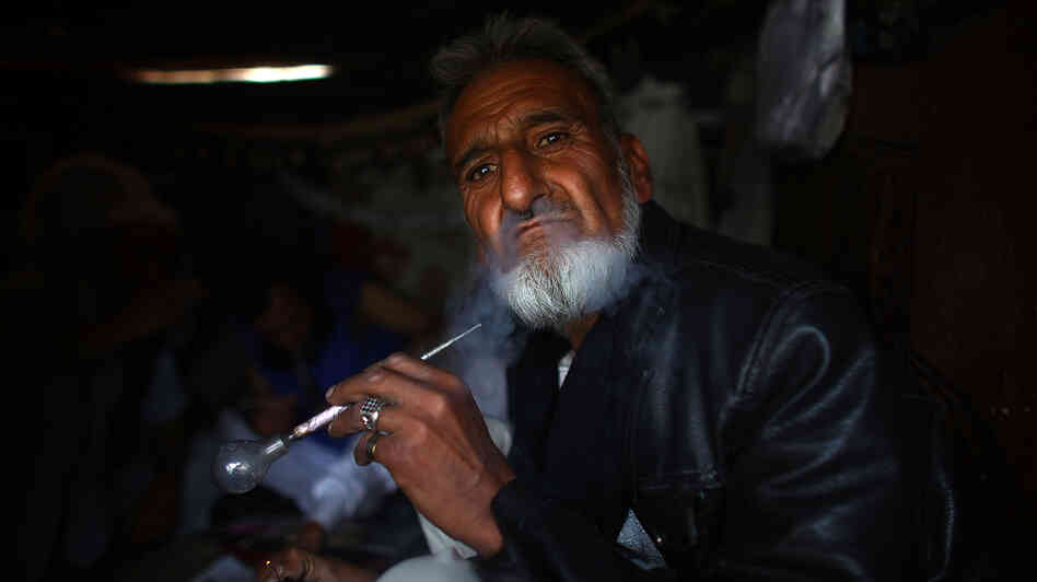 An Afghan Village Of Drug Addicts From Ages 10 To 60