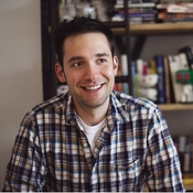 Alexis Ohanian, co-founder of the Internet startup Reddit, says he and his partner had no connections and little money when they started the now-popular site.