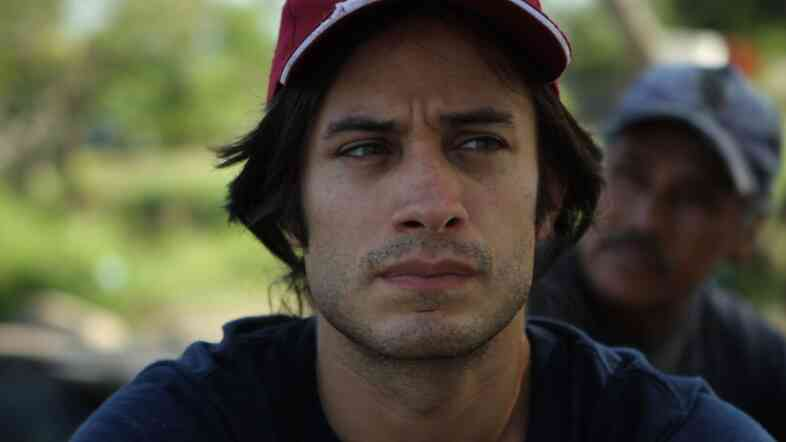 Gael Garcia Bernal narrates and travels in the documentary Who Is Dayani Cristal?