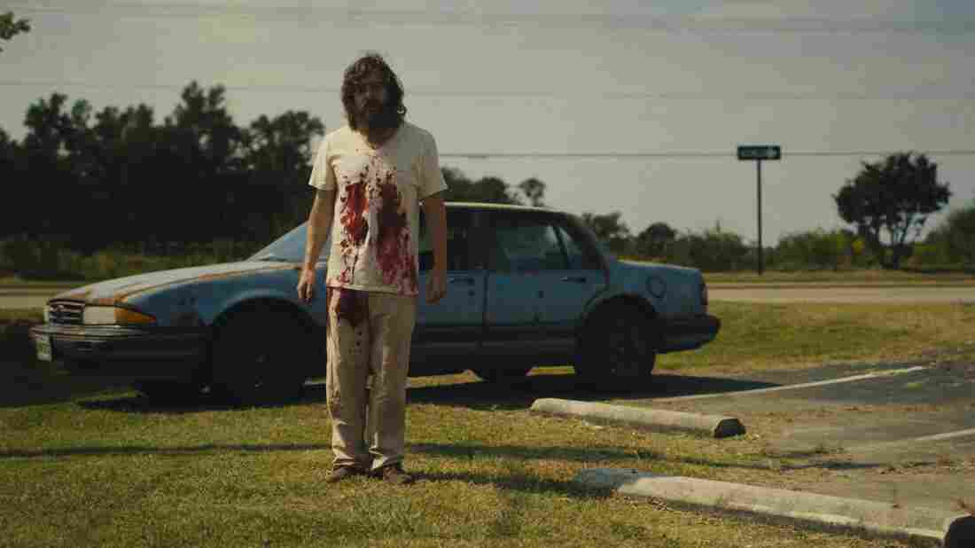 Macon Blair plays Dwight in the unsettling revenge thriller Blue Ruin.