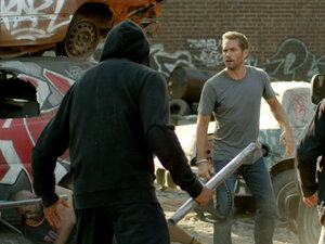 Paul Walker stars in Brick Mansions.