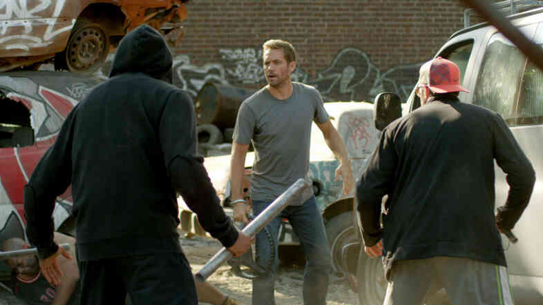 Paul Walker stars in Brick Mansions.