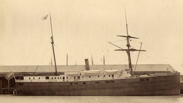 The steamship City of Chester.