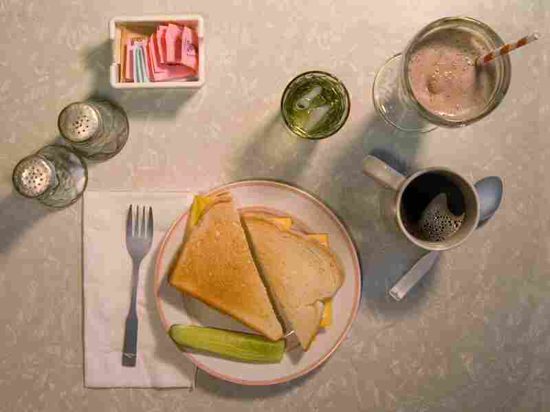 """""""When I'm out somewhere, I generally just eat a Swiss cheese sandwich and a malted milk. It isn't much, but you get quite a lot of vitamins in the malted milk. H. V. Caulfield. Holden Vitamin Caulfield."""" (The Catcher in the Rye by J.D. Salinger)"""