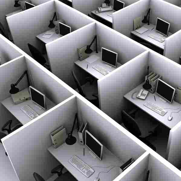 A Biography Of Your Cubicle: How This Became The Modern Workplace
