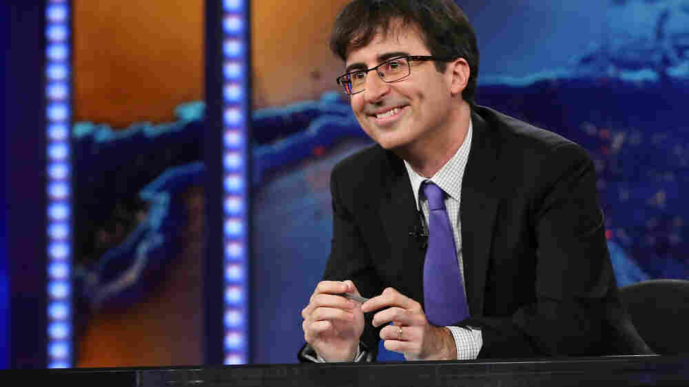 Where Jokes Go To Die, And Other Observations From Comic John Oliver