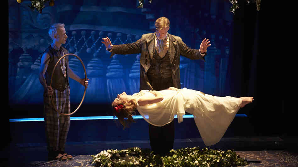 An image from The Smith Center's production of Shakespeare's The Tempest in Las Vegas.