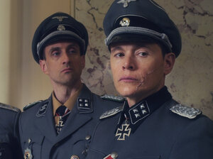 Charles De'ath, Charles Hubbell and Burn Gorman in Walking With The Enemy.