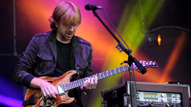 Phish has a thorough set of policies for fans who want to tape the band's shows.