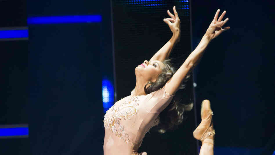Misty Copeland dances at BET Networks' Black Girls Rock! on Saturday, Oct. 26, 2013 in Newark, N.J.